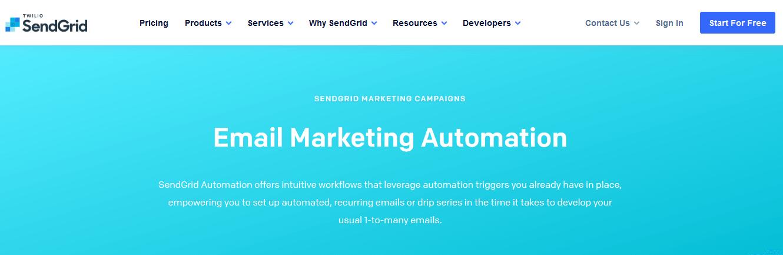 SendGrid Email Marketing Automation
