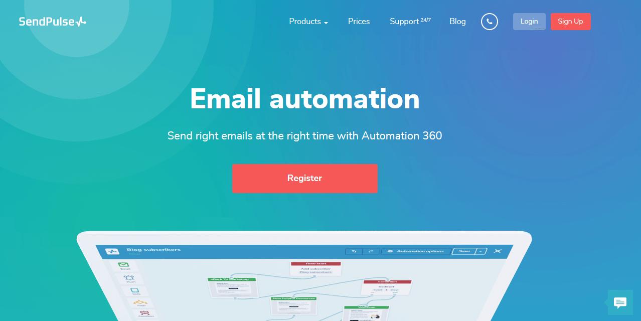SendPulse Email Marketing Automation