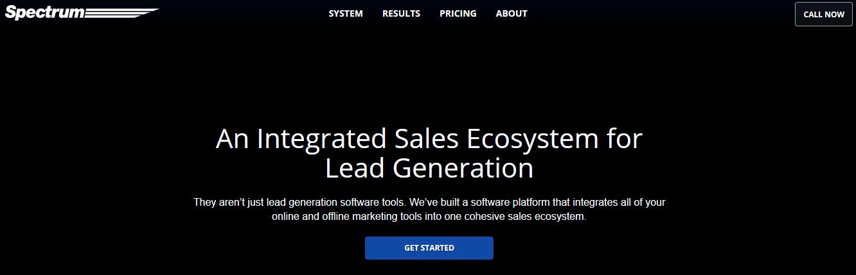 Spectrum Inc Lead Generation Software