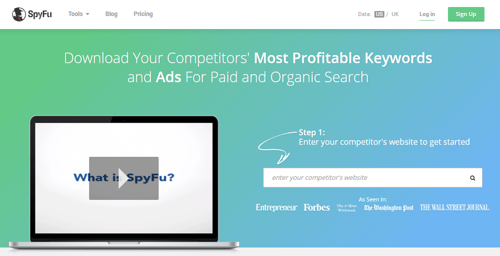 Spyfu Competitors Analysis Social Media Business