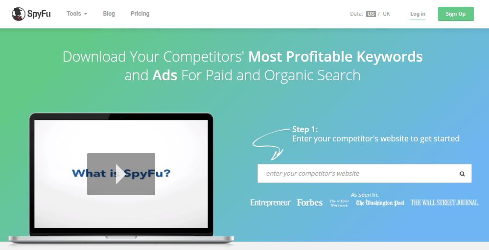 Spyfu Competitors Analysis Social Media Business