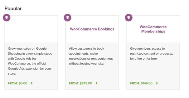 WooCommerce Pricing WooCommerce vs. BigCommerce