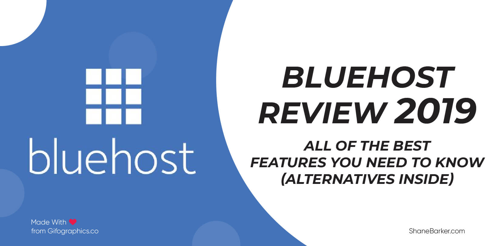 Bluehost Review 2019 All of the Best Features You Need to Know (Alternatives Inside)