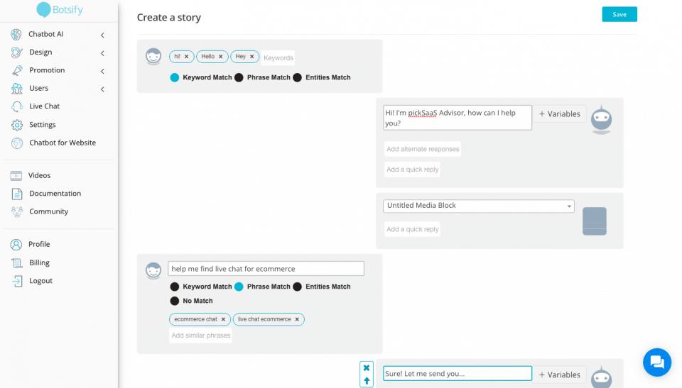 Botsify Online Chatbots