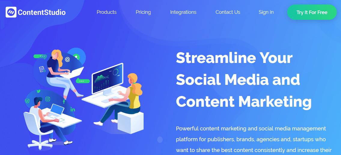 ContentStudia BuzzSumo Alternatives