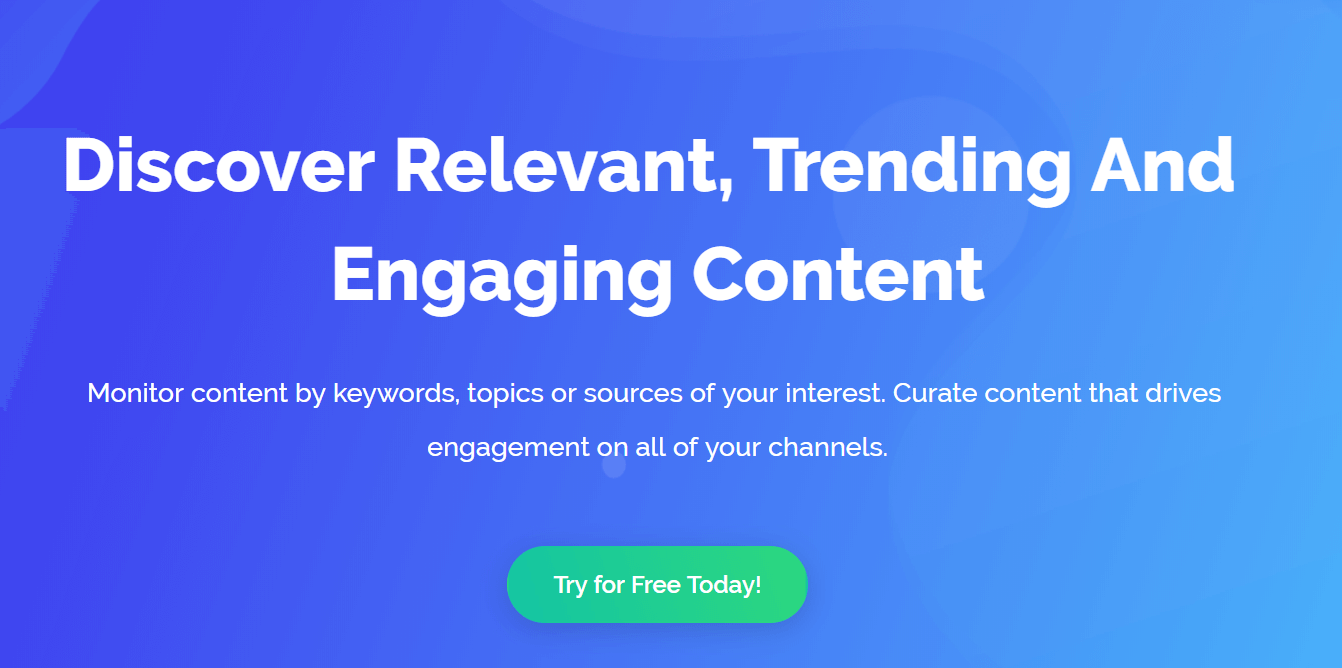 ContentStudio Content Curation Tools