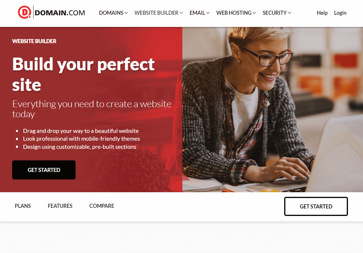 Domain.com Best Website Builder