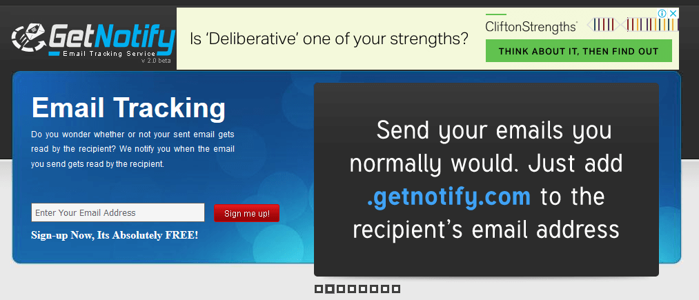 GetNotify Email Tracking Software