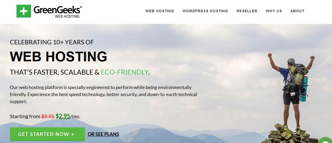 GreenGeeks Bluehost Alternatives