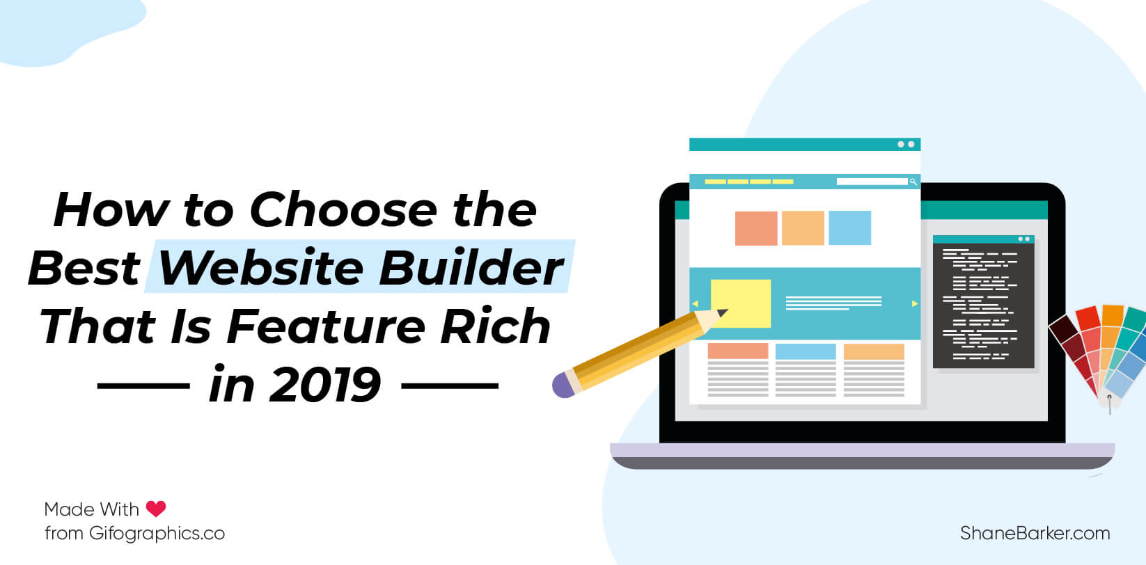 How to Choose the Best Website Builder That Is Feature Rich in 2019