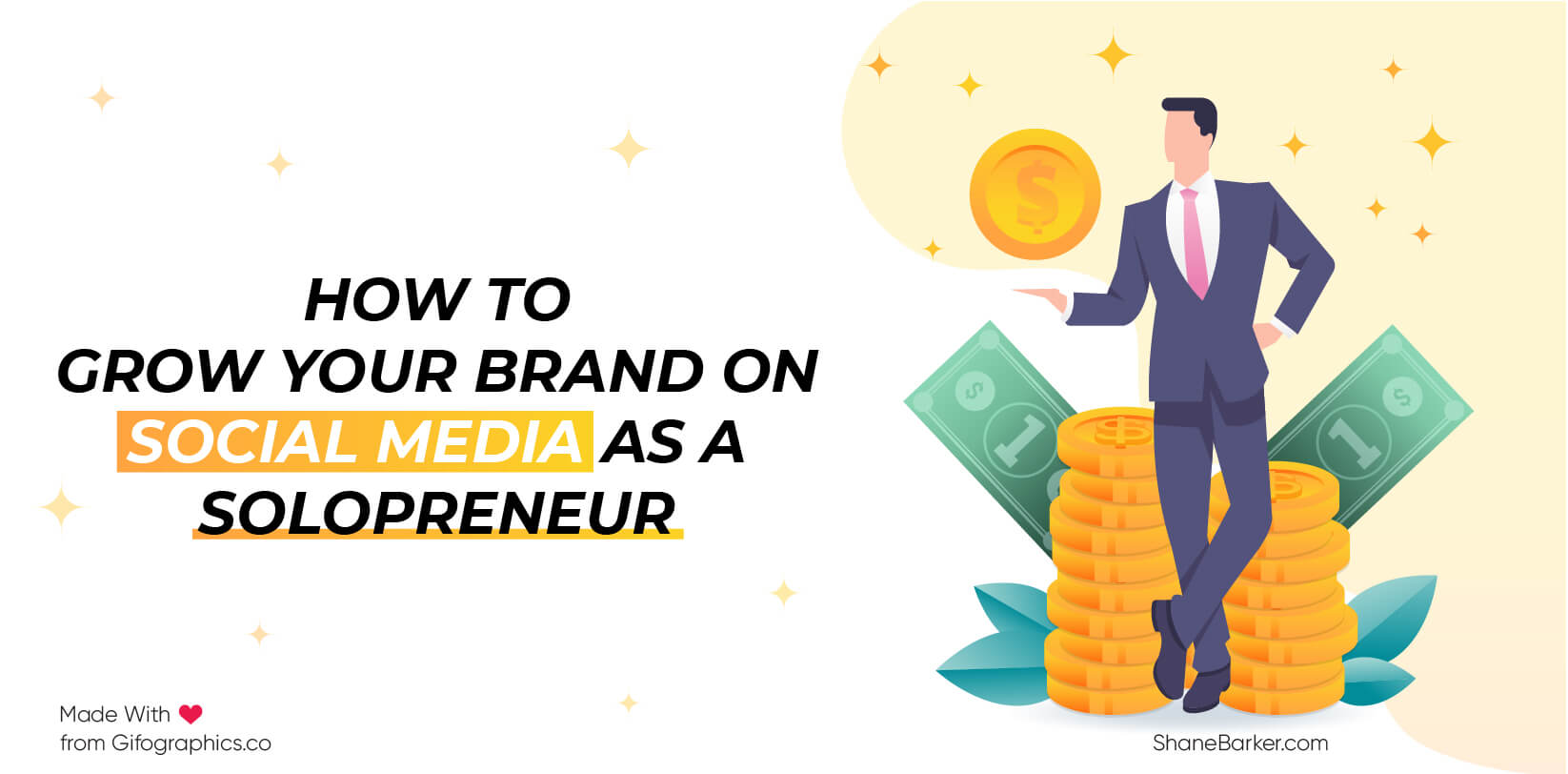 How to Grow Your Brand on Social Media as a Solopreneur