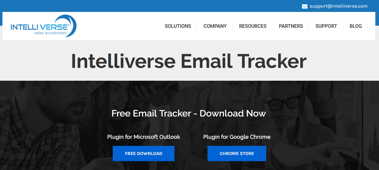 Intelliverse Email Tracking Software