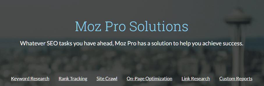 Moz's Site Crawl SEO Tools
