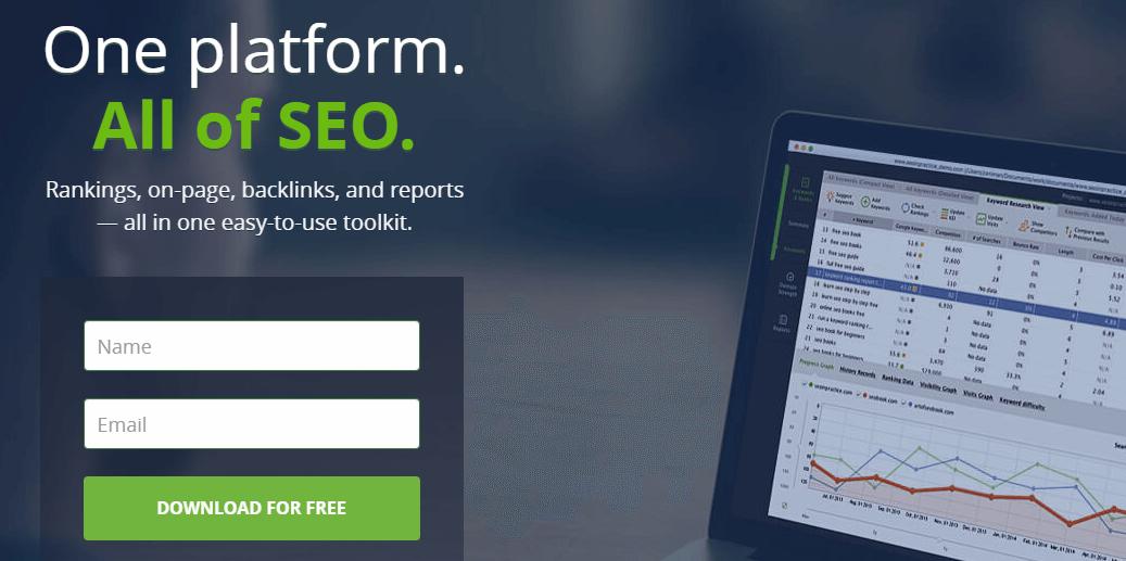 SEO PowerSuite SEO Tools