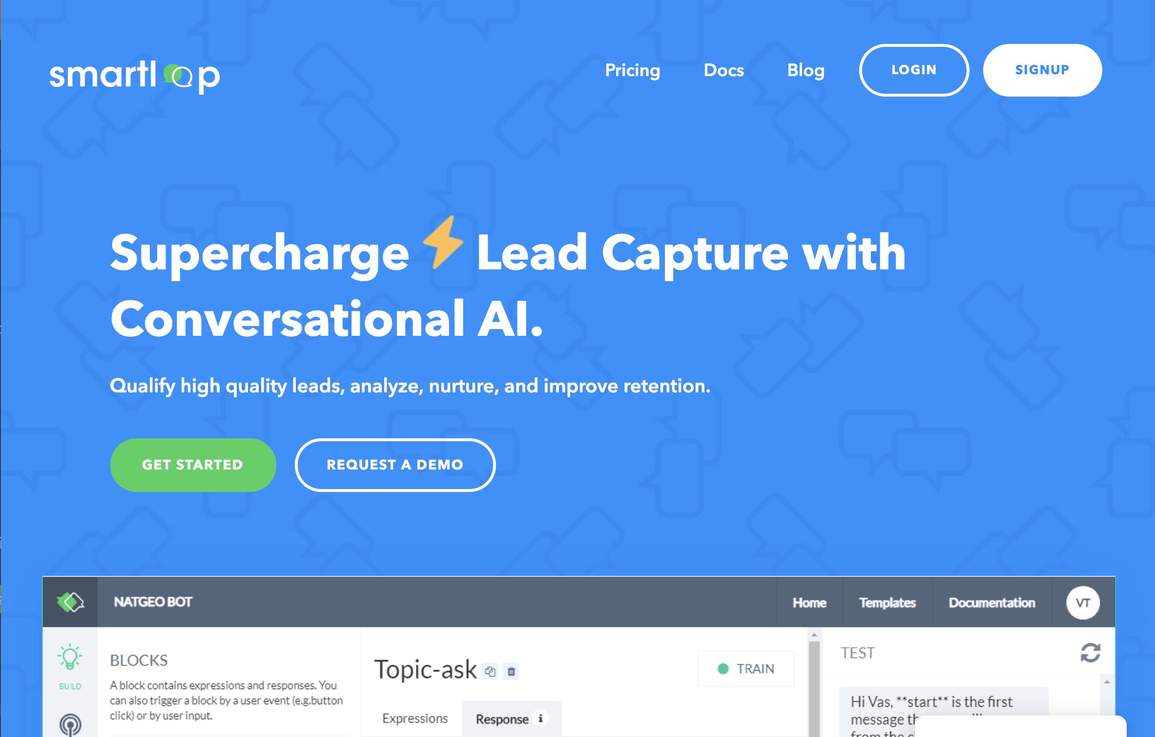 Smartloop AI Chatbot Platform
