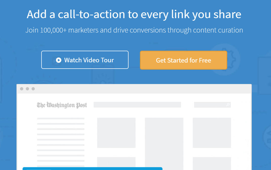 Sniply Content Curation Tools