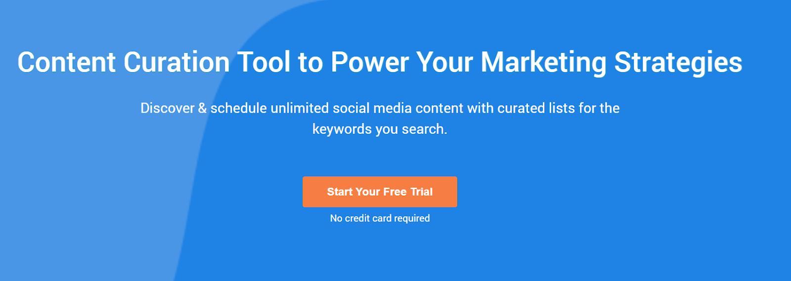 SocialPilot Content Curation Tools