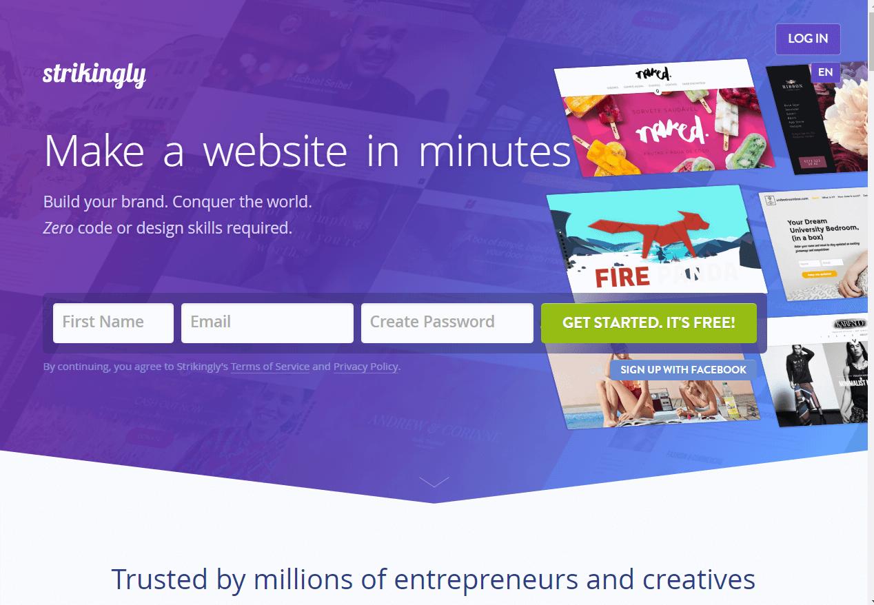 Strikingly Best Website Builder