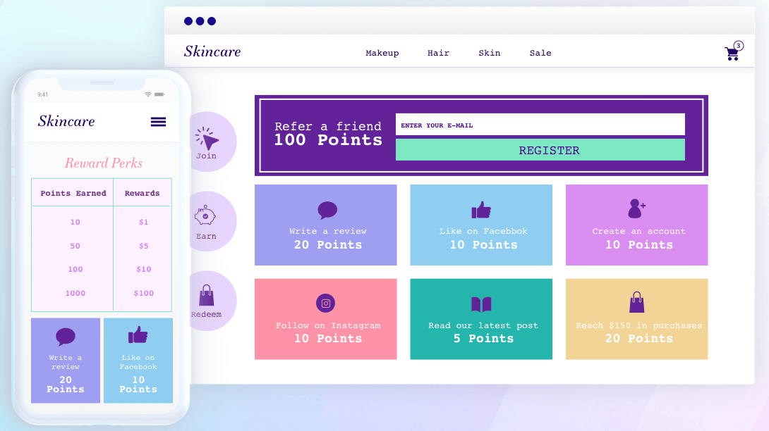 Swell Rewards working Referral Marketing Software