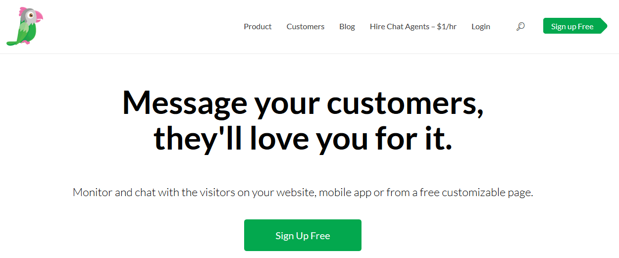 Tawk Live Chat Software