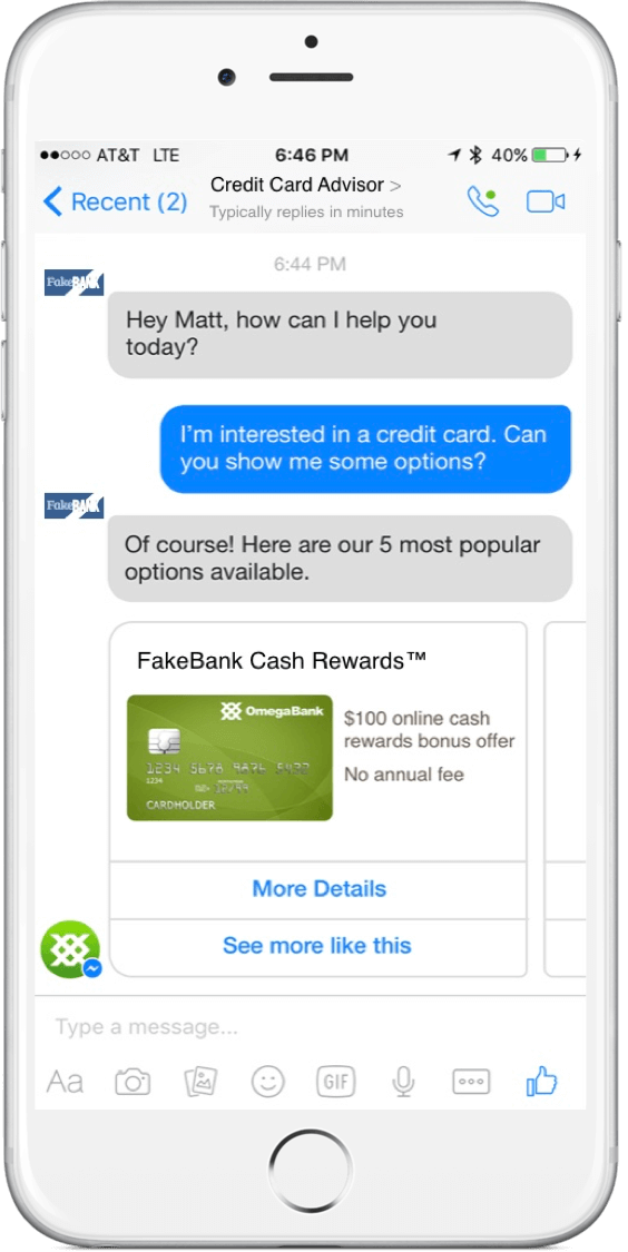 Use Cards How to Make a Chatbot