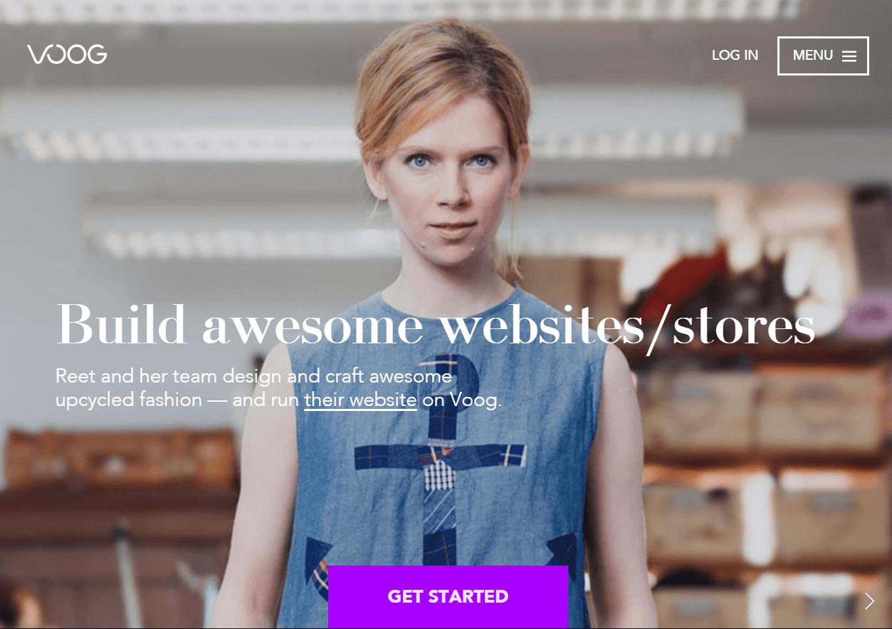 Voog Best Website Builder