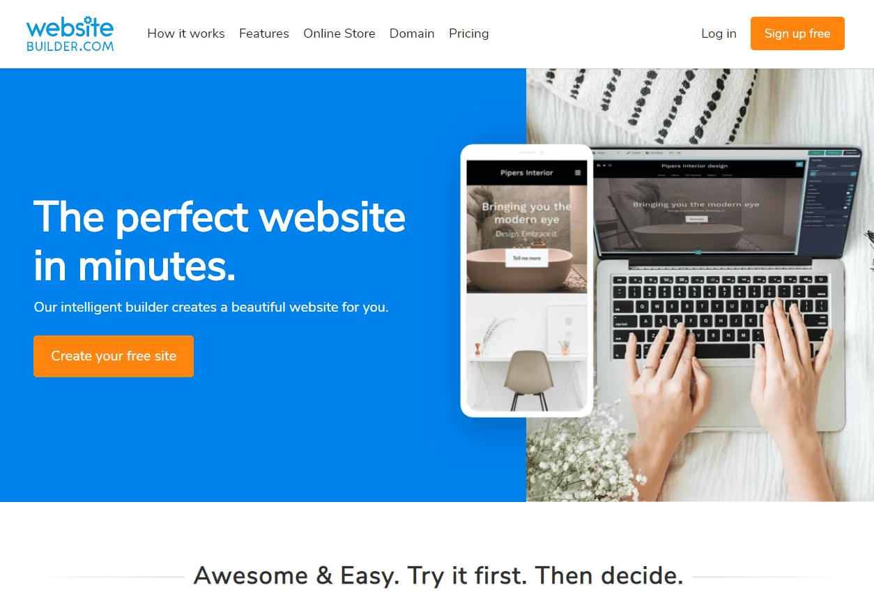 Websitebuilder Best Website Builder