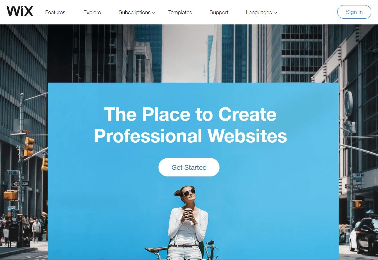 Wix Best Website Builder
