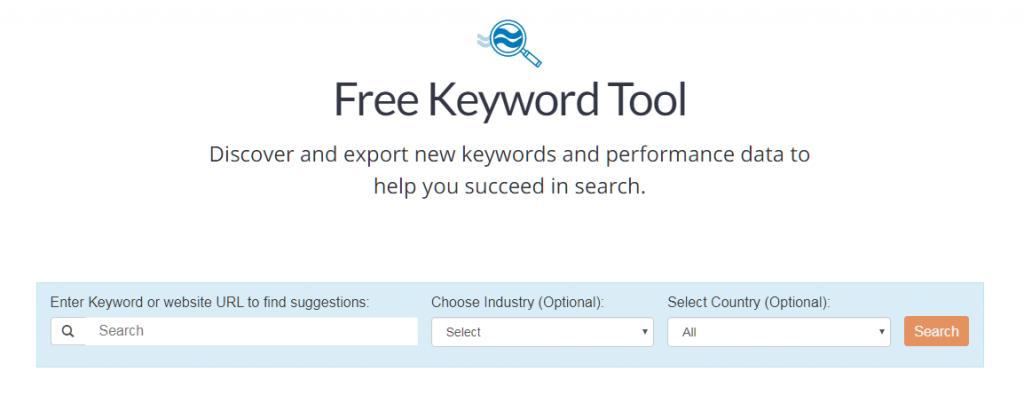 WordStream's Free Keyword Tool