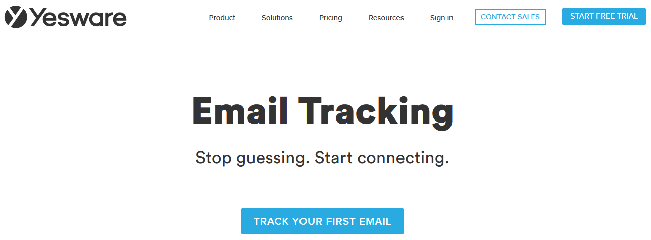 Yesware Email Tracking Software