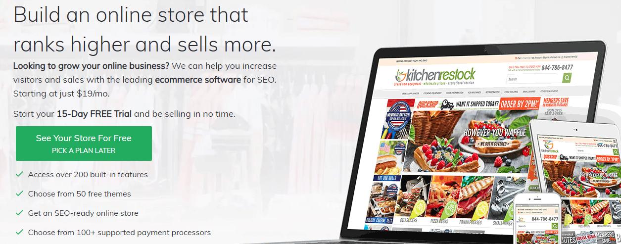 3dcart BigCommerce Alternatives