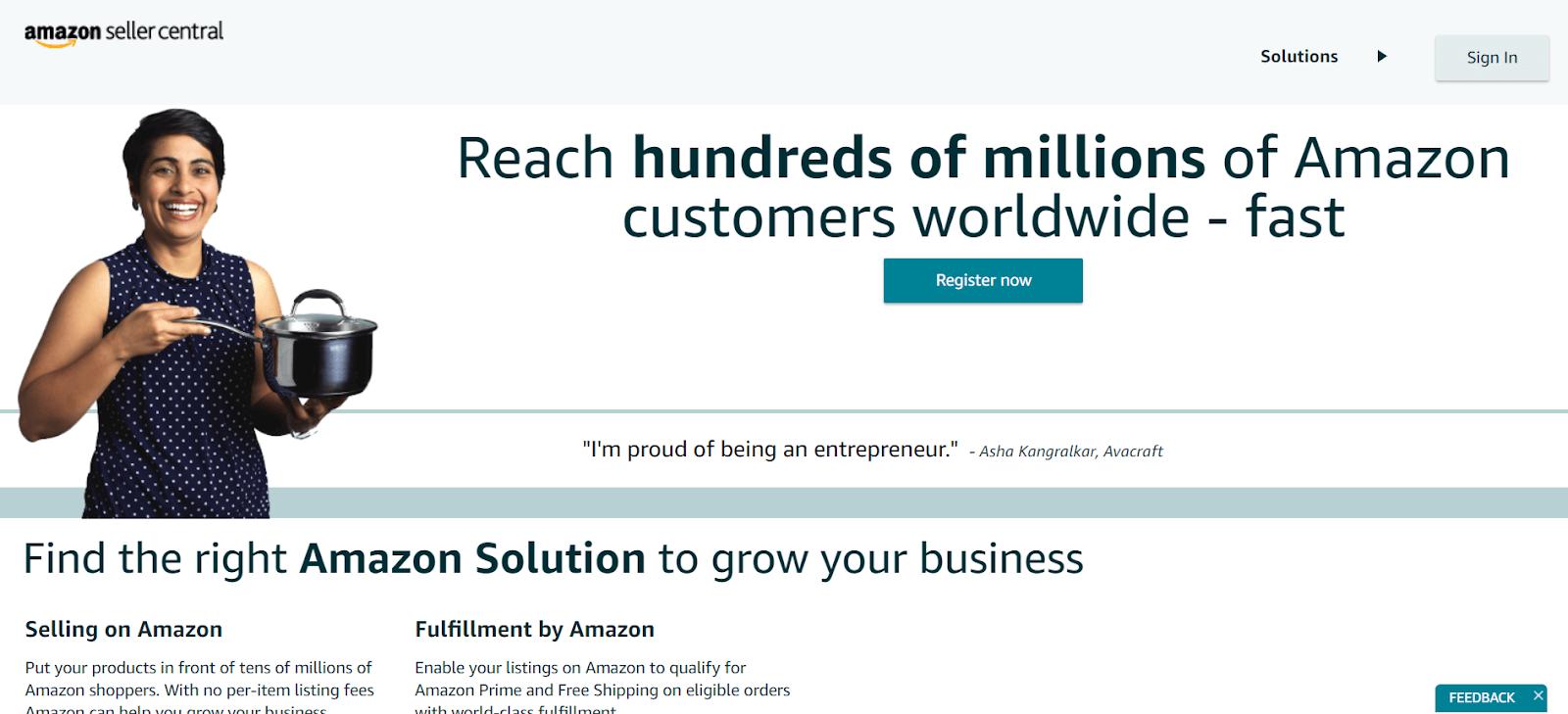Amazon Seller Central Ecommerce Platforms