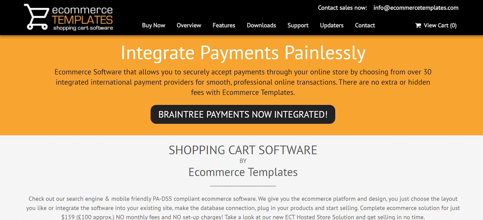 Ecommerce Templates Best eCommerce tools