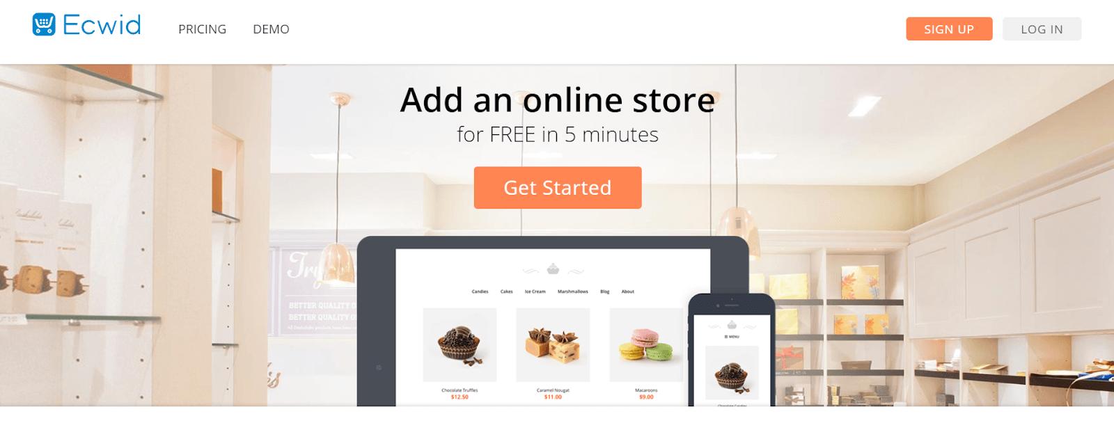 Ecwid Best eCommerce tools