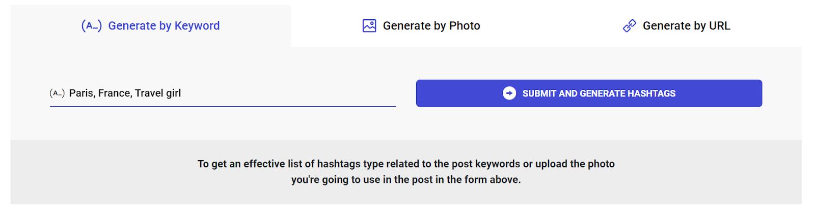 Ingramer Hashtag Generator Tools