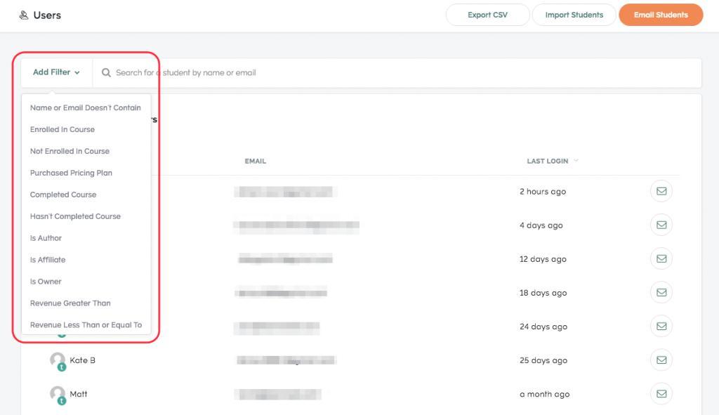 Kajabi's email marketing option Kajabi vs Teachable