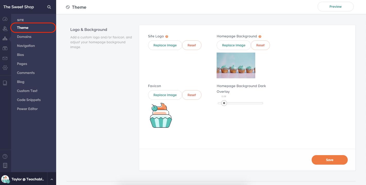 Kajabi theme option Kajabi vs Teachable