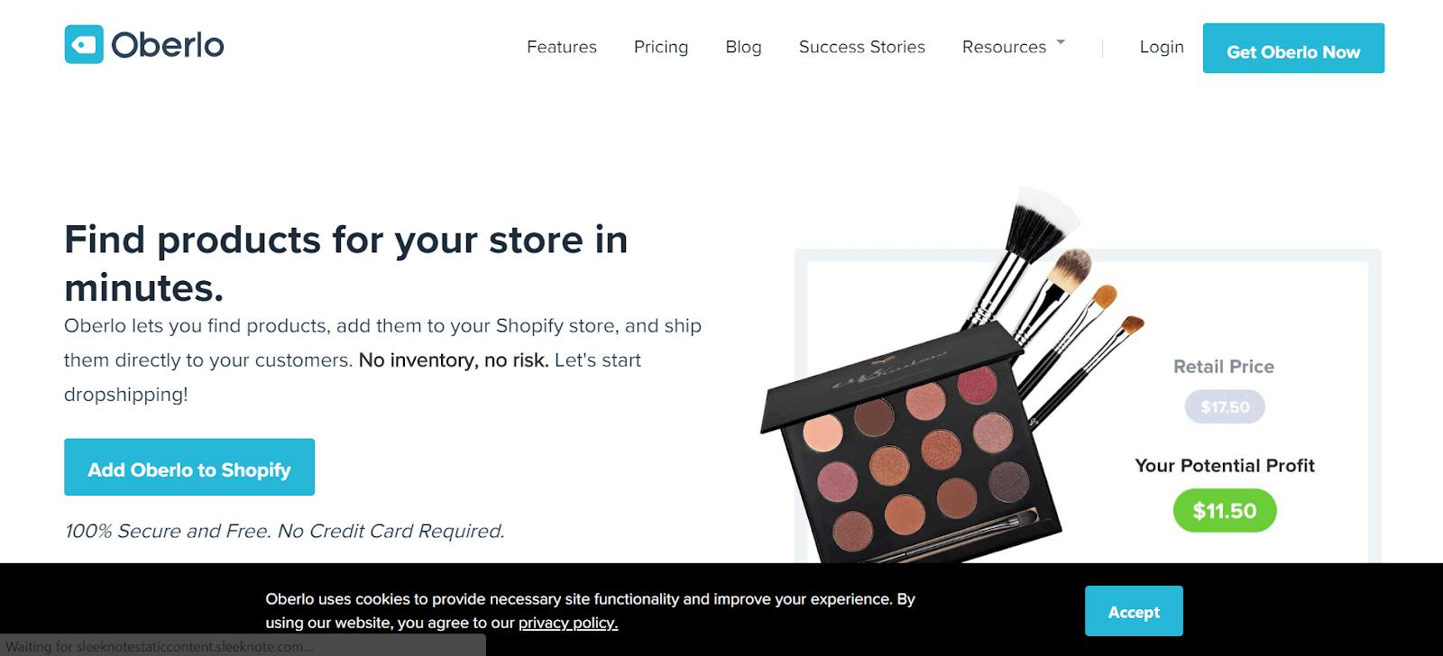 Oberlo Best eCommerce tools