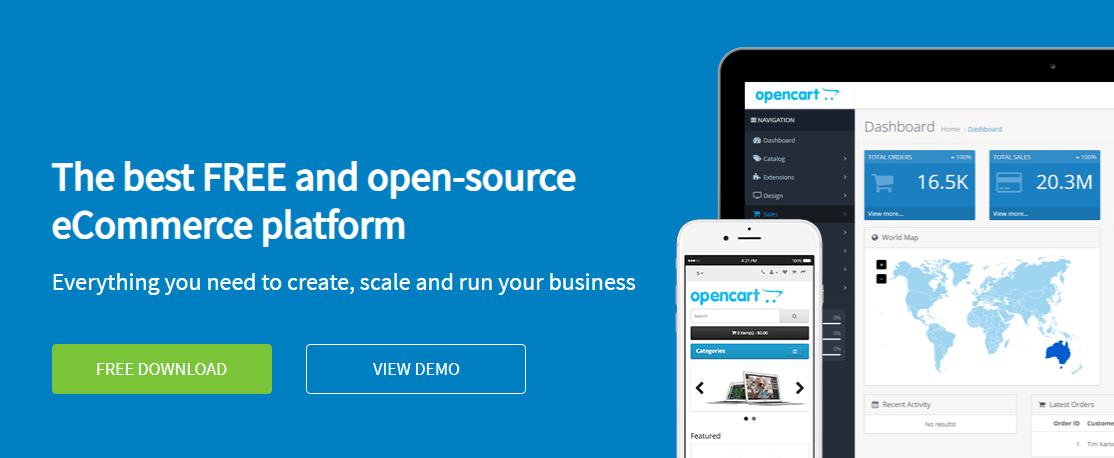 OpenCart BigCommerce Alternatives
