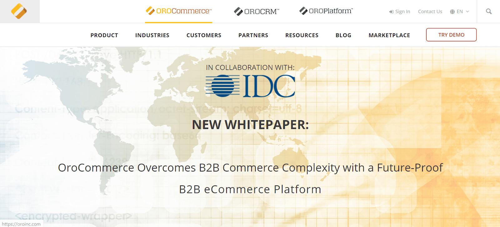 OroCommerce Ecommerce Platforms