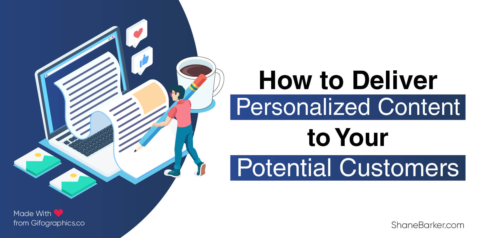 Personalized content to drive conversions