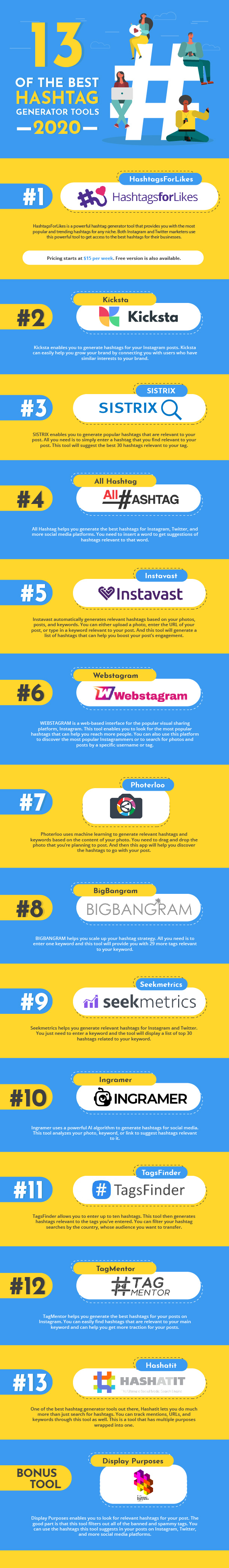 The Best Instagram Hashtag Generator Tools You Can Use