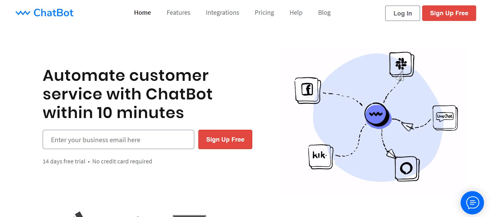 Chatbot for Websites