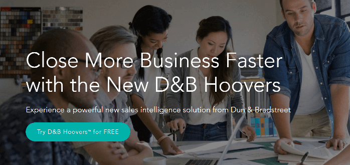 D&B Hoovers ZoomInfo Alternatives