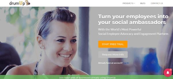 DrumUp Employee Advocacy Tools