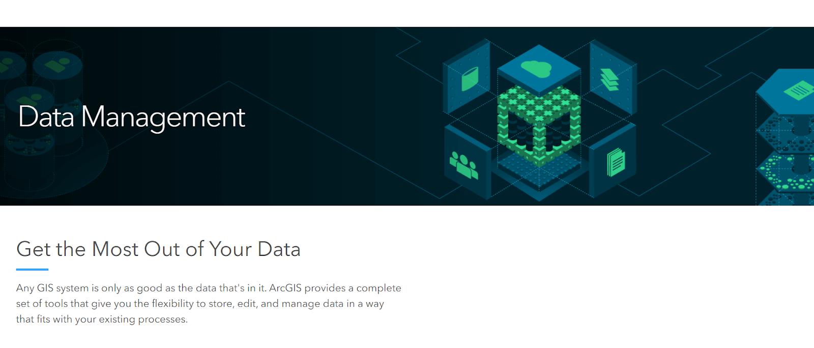 Esri Data Management Tool