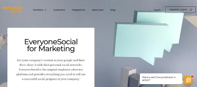 EveryoneSocial Employee Advocacy Tools