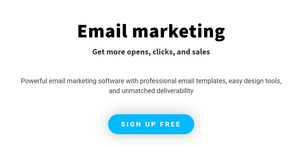 GetResponse Mailchimp alternative