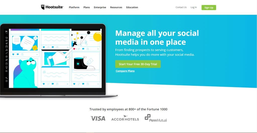 Hootsuite-Social-Media-Marketing-Tool