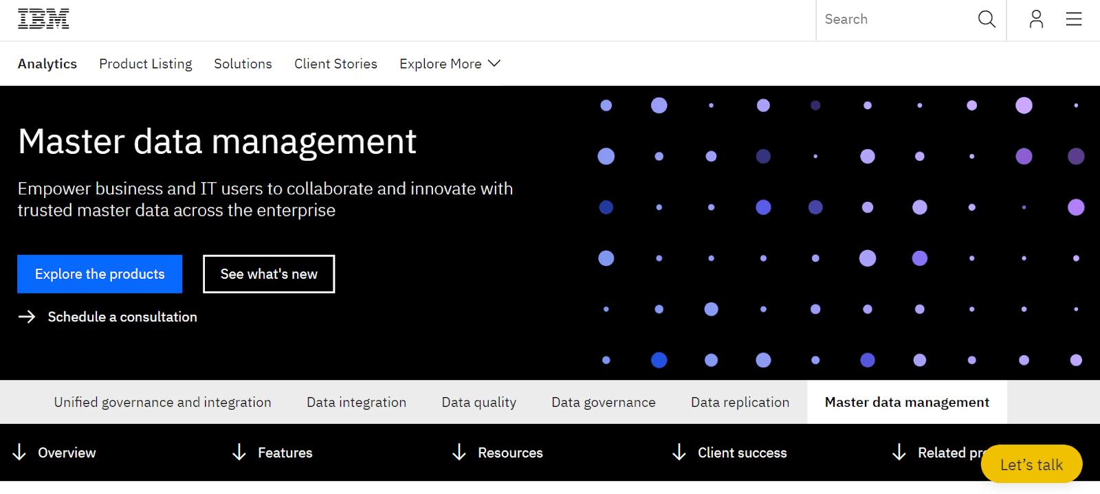 IBM Data Management Tool
